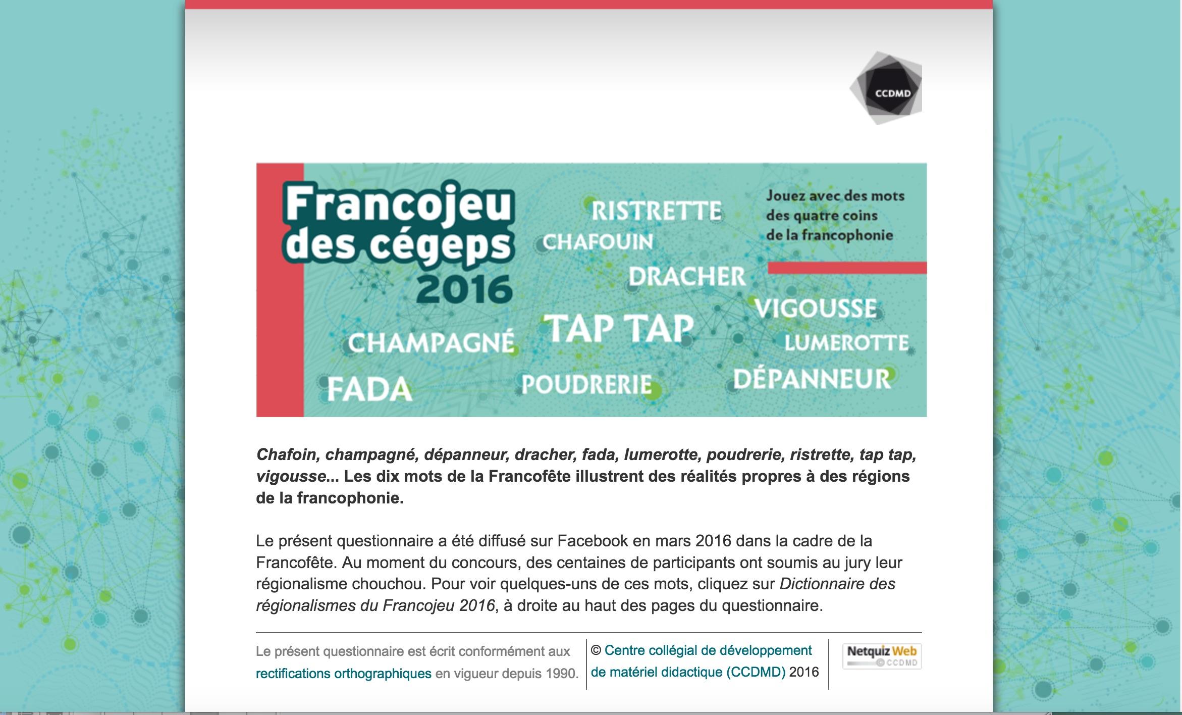 Ccdmd jeux p dagogiques le coin de l 39 office - Office de la langue francaise dictionnaire ...
