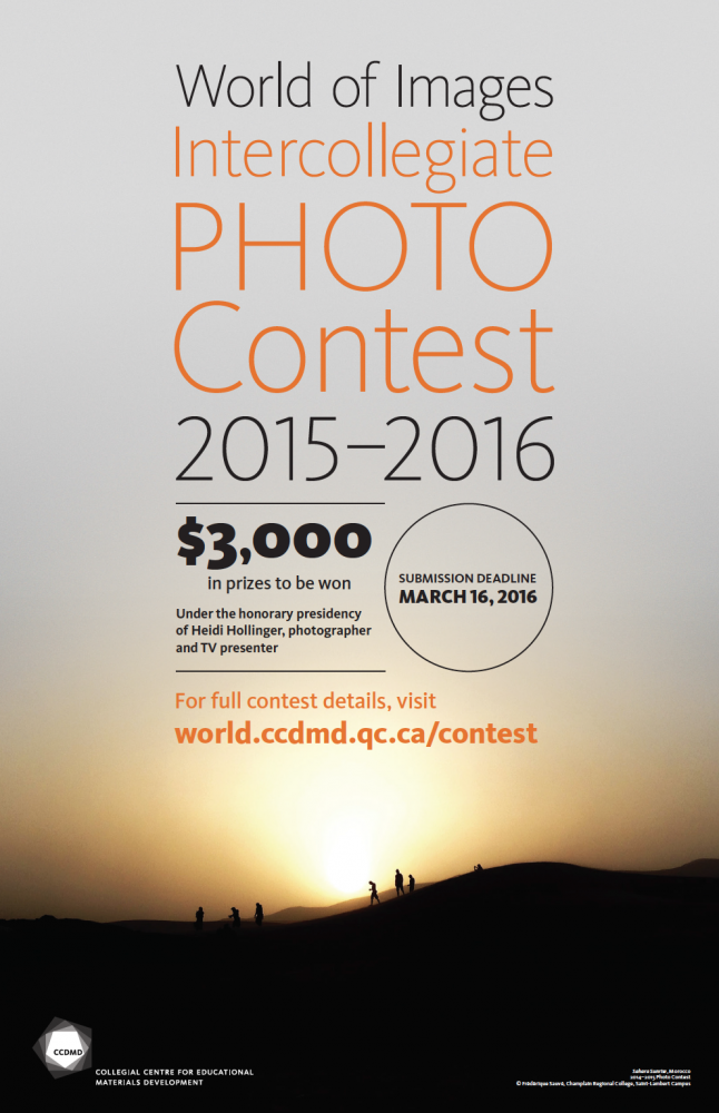 2015-2016 World of Images Intercollegiate Photo Competition