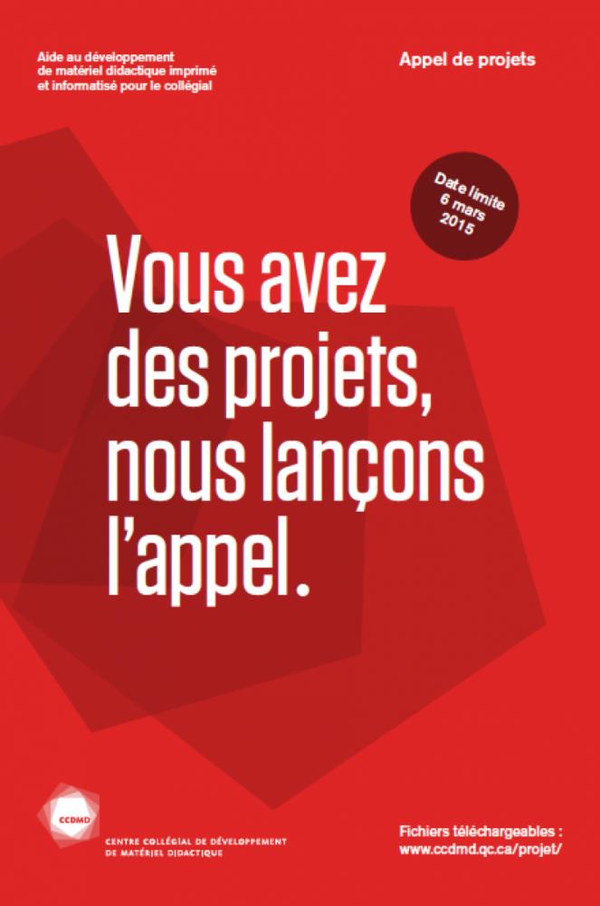 Appel de projets 2015