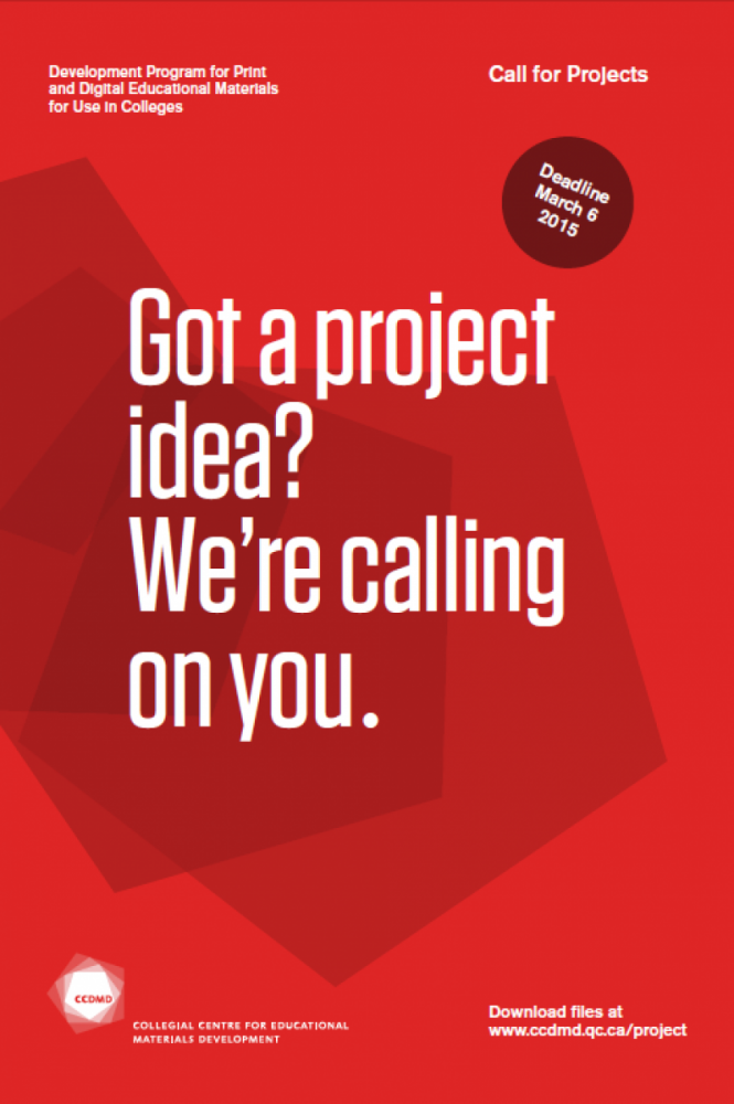 Call for Projects 2015