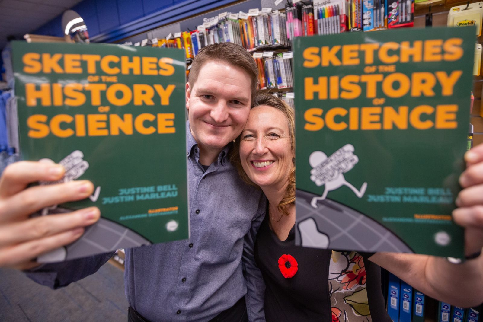Justine Bell Justin Marleau Launch Sketches of the History of Science