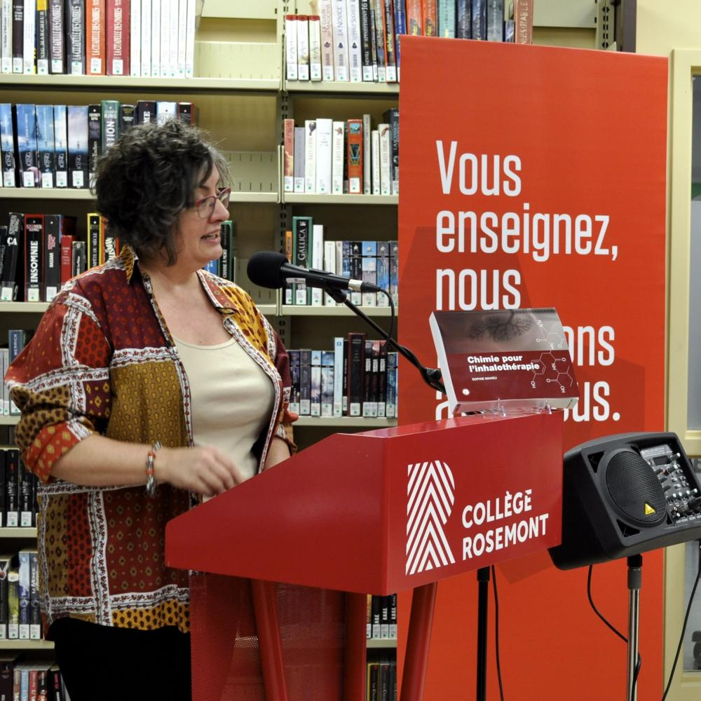 Launch of Chimie pour l'inhalothérapie