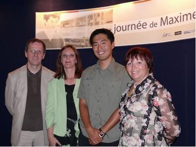 Réjean Jobin, Nathalie Fortin, Maxime Doyon et Chantale Perreault