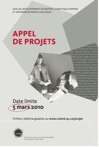 Appel de projets 2010