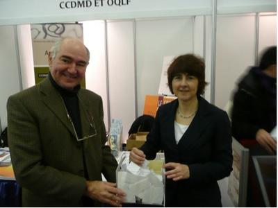 Jean-Pierre Dufresne et Françoise Leblanc