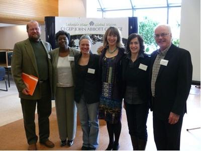 Erich Schmedt, Brenda Row, Susan Daningburg, Jeannine Ryser, V. Gill