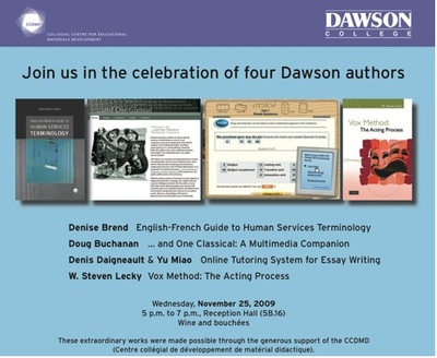 Quadruple lancement au collège Dawson