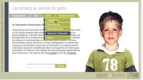 Les enfants au service de garde en milieu scolaire (5-12 ans)