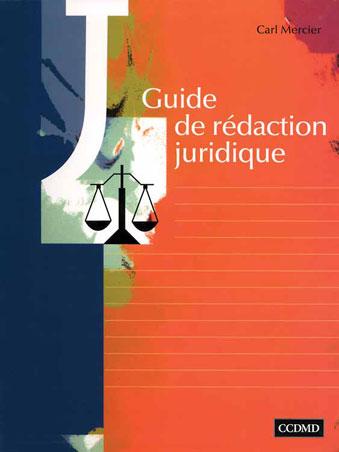 Guide de rédaction juridique