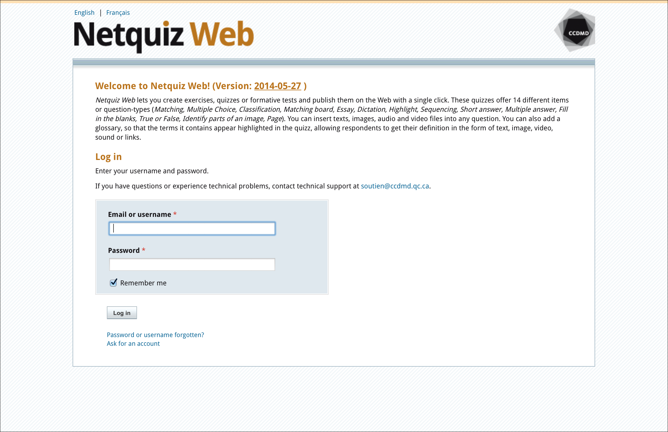 Netquiz Web