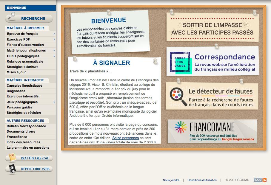 Aperçu - Amélioration du français