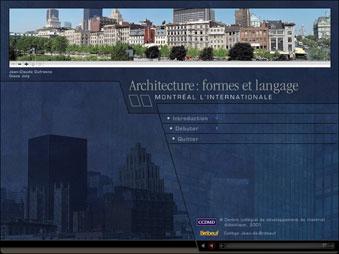 Architecture : formes et langage