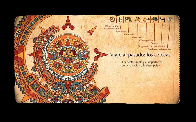 Viaje al pasado : los aztecas