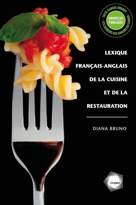 Lexique français-anglais de la cuisine et de la restauration