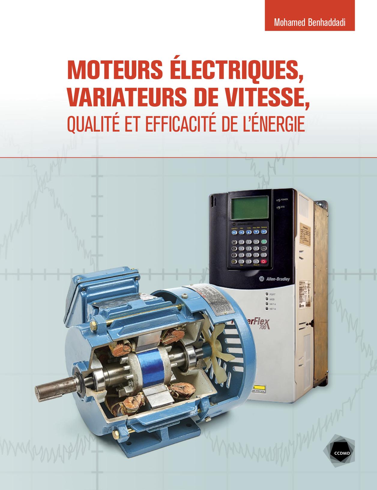 Moteurs électriques, variateurs de vitesse, qualité et efficacité de l'énergie
