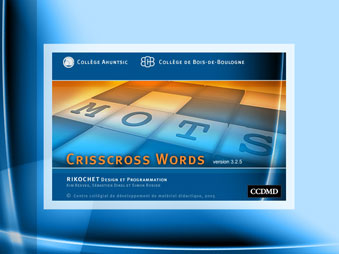 Crisscross Words