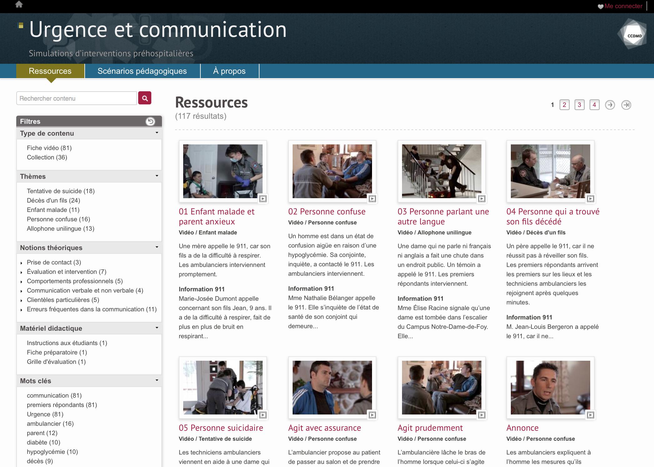 Urgence et communication