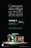 Des nouvelles du Concours intercollégial de photo 2012-2013