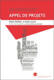 Appel de projets 2012 : 21 projets soumis