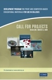 Call for Projects 2009
