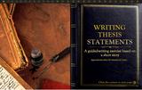 Ressource interactive sur la rédaction d'énoncés de thèses