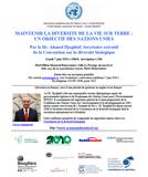 Conférence sur la biodiversité présentée par l'ACNU