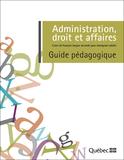Annonce officielle du cours de français Administration, droit et affaires