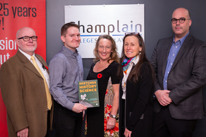 Successful Launch at Champlain College Saint-Lambert