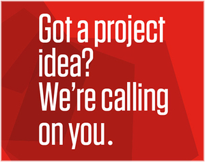 The CCDMD invites you to submit your project for 2020