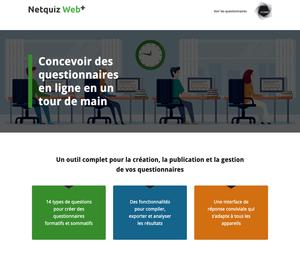 Nouveauté dans notre catalogue : Netquiz Web+