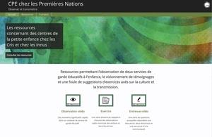 CPE chez les Premières Nations