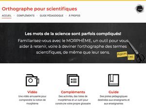Orthographe pour scientifiques