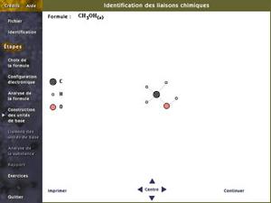 Identification des liaisons chimiques II