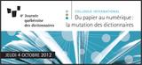 The CCDMD will take part in the fourth Journée québécoise des dictionnaires